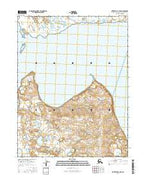 Kotzebue D-1 NW Alaska Current topographic map, 1:25000 scale, 7.5 X 7.5 Minute, Year 2016 from Alaska Map Store
