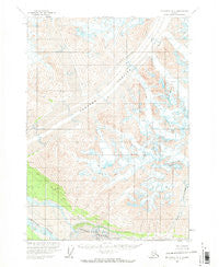 McCarthy A-2 Alaska Historical topographic map, 1:63360 scale, 15 X 15 Minute, Year 1959