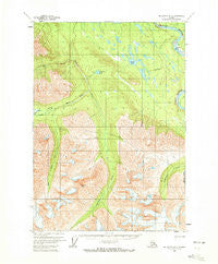 McCarthy A-6 Alaska Historical topographic map, 1:63360 scale, 15 X 15 Minute, Year 1959