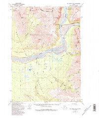 McCarthy B-5 Alaska Historical topographic map, 1:63360 scale, 15 X 15 Minute, Year 1959