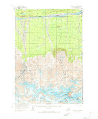 McCarthy C-1 Alaska Historical topographic map, 1:63360 scale, 15 X 15 Minute, Year 1959