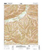 Melozitna B-1 NW Alaska Current topographic map, 1:25000 scale, 7.5 X 7.5 Minute, Year 2016 from Alaska Map Store