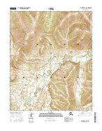 Melozitna B-2 NE Alaska Current topographic map, 1:25000 scale, 7.5 X 7.5 Minute, Year 2016 from Alaska Map Store