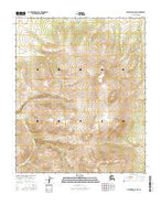 Melozitna B-2 NW Alaska Current topographic map, 1:25000 scale, 7.5 X 7.5 Minute, Year 2016 from Alaska Map Store