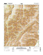 Melozitna B-4 SW Alaska Current topographic map, 1:25000 scale, 7.5 X 7.5 Minute, Year 2016 from Alaska Map Store