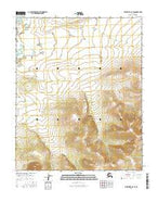 Melozitna C-5 SE Alaska Current topographic map, 1:25000 scale, 7.5 X 7.5 Minute, Year 2016 from Alaska Map Store