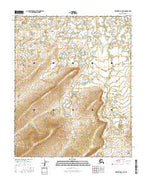 Melozitna C-5 SW Alaska Current topographic map, 1:25000 scale, 7.5 X 7.5 Minute, Year 2016 from Alaska Map Store