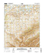 Melozitna C-6 SE Alaska Current topographic map, 1:25000 scale, 7.5 X 7.5 Minute, Year 2016 from Alaska Map Store