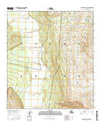 Mount Hayes C-4 NW Alaska Current topographic map, 1:25000 scale, 7.5 X 7.5 Minute, Year 2016 from Alaska Map Store