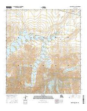 Mount Hayes C-6 NE Alaska Current topographic map, 1:25000 scale, 7.5 X 7.5 Minute, Year 2016 from Alaska Maps Store