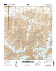 Mount Hayes C-6 NW Alaska Current topographic map, 1:25000 scale, 7.5 X 7.5 Minute, Year 2016 from Alaska Maps Store