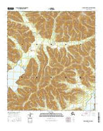 Mount Hayes D-1 SW Alaska Current topographic map, 1:25000 scale, 7.5 X 7.5 Minute, Year 2016 from Alaska Map Store
