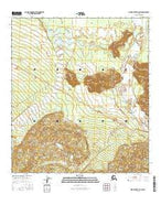 Mount Hayes D-2 SW Alaska Current topographic map, 1:25000 scale, 7.5 X 7.5 Minute, Year 2016 from Alaska Map Store