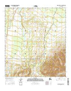 Mount Hayes D-4 SE Alaska Current topographic map, 1:25000 scale, 7.5 X 7.5 Minute, Year 2016 from Alaska Map Store