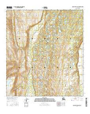 Mount Hayes D-5 SE Alaska Current topographic map, 1:25000 scale, 7.5 X 7.5 Minute, Year 2016 from Alaska Maps Store