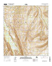 Mount Hayes D-5 SW Alaska Current topographic map, 1:25000 scale, 7.5 X 7.5 Minute, Year 2016 from Alaska Maps Store