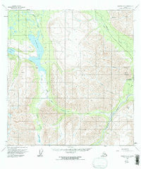 Nabesna B-5 Alaska Historical topographic map, 1:63360 scale, 15 X 15 Minute, Year 1960
