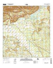 Nabesna C-6 NW Alaska Current topographic map, 1:25000 scale, 7.5 X 7.5 Minute, Year 2016 from Alaska Maps Store