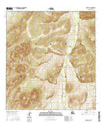 Ophir A-3 SE Alaska Current topographic map, 1:25000 scale, 7.5 X 7.5 Minute, Year 2016 from Alaska Map Store