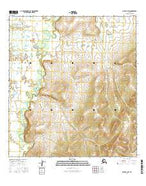 Ophir A-3 SW Alaska Current topographic map, 1:25000 scale, 7.5 X 7.5 Minute, Year 2016 from Alaska Map Store