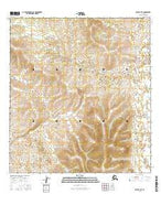 Ophir A-4 SE Alaska Current topographic map, 1:25000 scale, 7.5 X 7.5 Minute, Year 2016 from Alaska Map Store
