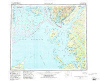 Prince Rupert Alaska Historical topographic map, 1:250000 scale, 1 X 2 Degree, Year 1959