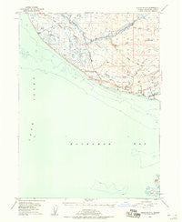 Seldovia C-5 Alaska Historical topographic map, 1:63360 scale, 15 X 15 Minute, Year 1946