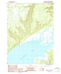 Seldovia D-3 SW Alaska Historical topographic map, 1:25000 scale, 7.5 X 7.5 Minute, Year 1987