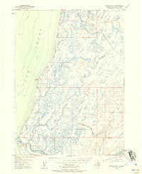 Seldovia D-5 Alaska Historical topographic map, 1:63360 scale, 15 X 15 Minute, Year 1946
