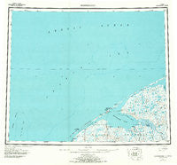 Shishmaref Alaska Historical topographic map, 1:250000 scale, 1 X 3 Degree, Year 1950