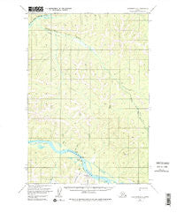 Sleetmute D-4 Alaska Historical topographic map, 1:63360 scale, 15 X 15 Minute, Year 1954