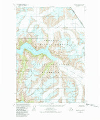 Sumdum D-4 Alaska Historical topographic map, 1:63360 scale, 15 X 15 Minute, Year 1960