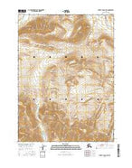 Survey Pass D-4 NE Alaska Current topographic map, 1:25000 scale, 7.5 X 7.5 Minute, Year 2016 from Alaska Map Store