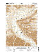 Survey Pass D-4 NW Alaska Current topographic map, 1:25000 scale, 7.5 X 7.5 Minute, Year 2016 from Alaska Map Store