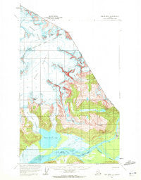 Taku River C-6 Alaska Historical topographic map, 1:63360 scale, 15 X 15 Minute, Year 1960