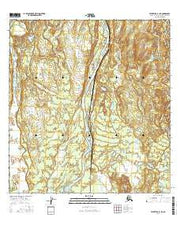 Talkeetna B-1 NE Alaska Current topographic map, 1:25000 scale, 7.5 X 7.5 Minute, Year 2016 from Alaska Maps Store
