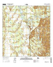 Talkeetna B-1 SE Alaska Current topographic map, 1:25000 scale, 7.5 X 7.5 Minute, Year 2016 from Alaska Maps Store