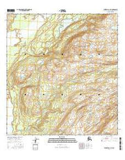 Talkeetna C-1 NE Alaska Current topographic map, 1:25000 scale, 7.5 X 7.5 Minute, Year 2016 from Alaska Maps Store