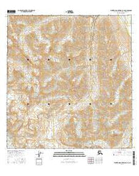 Talkeetna Mountains B-4 SE Alaska Current topographic map, 1:25000 scale, 7.5 X 7.5 Minute, Year 2016