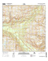 Talkeetna Mountains B-5 NW Alaska Current topographic map, 1:25000 scale, 7.5 X 7.5 Minute, Year 2016