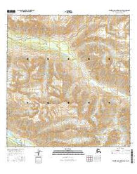 Talkeetna Mountains B-5 SE Alaska Current topographic map, 1:25000 scale, 7.5 X 7.5 Minute, Year 2016