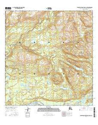 Talkeetna Mountains B-6 NW Alaska Current topographic map, 1:25000 scale, 7.5 X 7.5 Minute, Year 2016