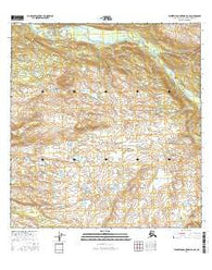 Talkeetna Mountains B-6 SE Alaska Current topographic map, 1:25000 scale, 7.5 X 7.5 Minute, Year 2016