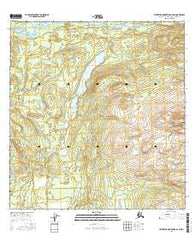 Talkeetna Mountains B-6 SW Alaska Current topographic map, 1:25000 scale, 7.5 X 7.5 Minute, Year 2016