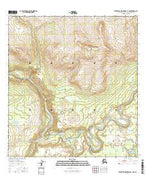 Talkeetna Mountains C-1 NW Alaska Current topographic map, 1:25000 scale, 7.5 X 7.5 Minute, Year 2016 from Alaska Map Store