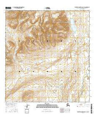 Talkeetna Mountains C-3 NE Alaska Current topographic map, 1:25000 scale, 7.5 X 7.5 Minute, Year 2016