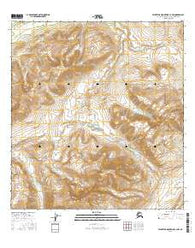 Talkeetna Mountains C-3 NW Alaska Current topographic map, 1:25000 scale, 7.5 X 7.5 Minute, Year 2016