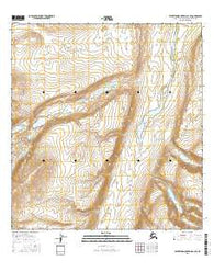 Talkeetna Mountains C-3 SE Alaska Current topographic map, 1:25000 scale, 7.5 X 7.5 Minute, Year 2016