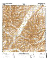 Talkeetna Mountains C-3 SW Alaska Current topographic map, 1:25000 scale, 7.5 X 7.5 Minute, Year 2016