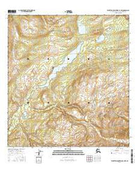 Talkeetna Mountains C-4 NW Alaska Current topographic map, 1:25000 scale, 7.5 X 7.5 Minute, Year 2016